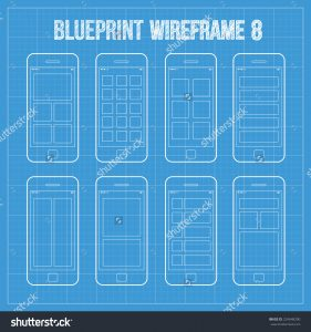 stock-vector-wireframe-mobile-app-ui-kit-mobile-grid-screens-collection-main-screen-grid-x-grid-224648290